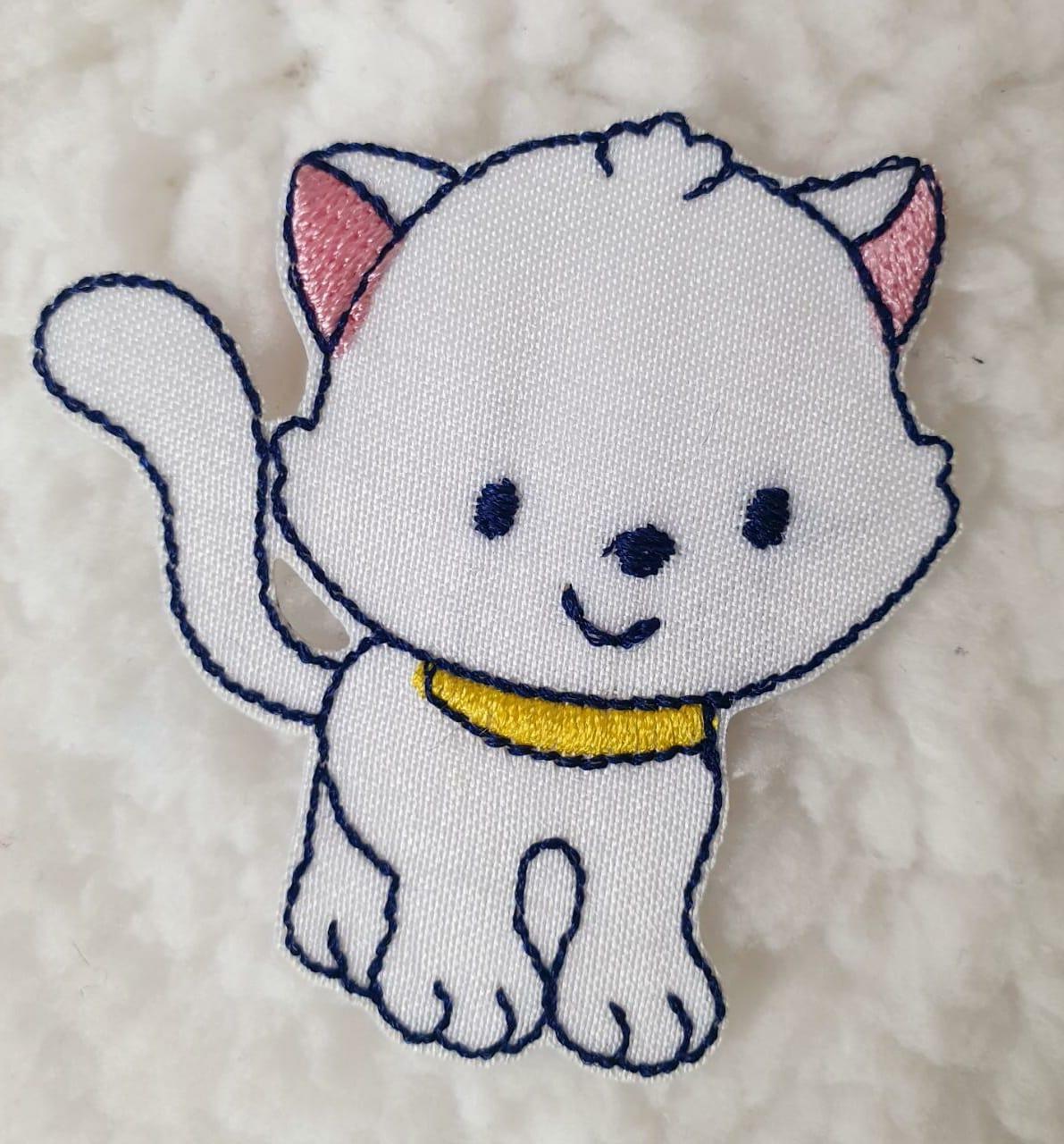 Aplique gatinha M