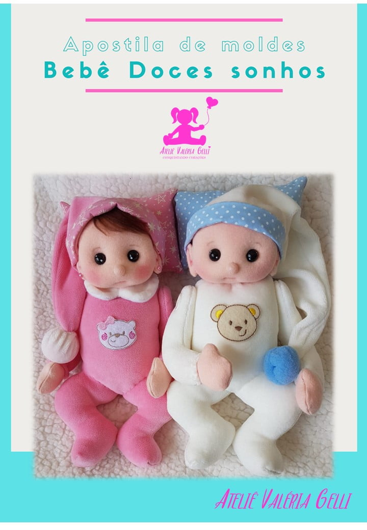 Apostila Bebê Doces Sonhos (ENVIO POR CORREIO)