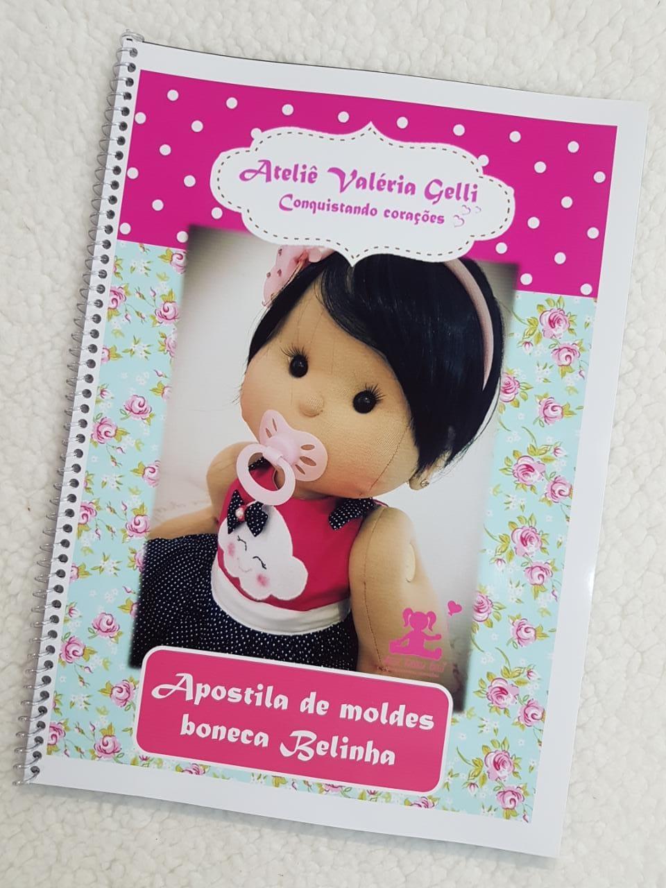 Apostila boneca Belinha (Frete grátis)