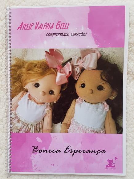 Apostila encadernada boneca Esperança _ ENVIO POR CORREIO