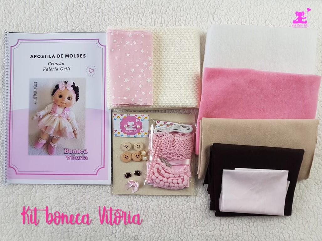 Kit boneca Vitória