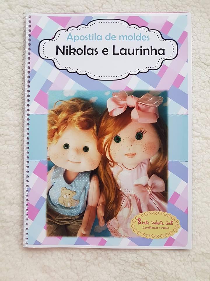 Apostila Nikolas e Laurinha  encadernada ( correio )