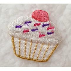 Aplique cupcake granulado P