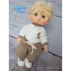 Apostila boneco Vitor