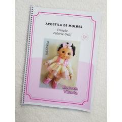 Apostila de moldes boneca Vitória