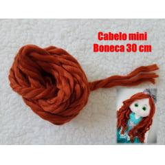Lã mini boneca Ruiva
