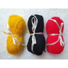 Lã tradicional cabelo de boneca (escolher cor)