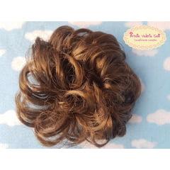 Xuxa cabelo Milena chocolate
