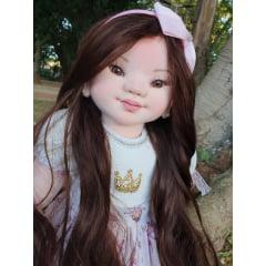 Curso online + material boneca Yasmin