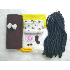 Kit boneca Negra