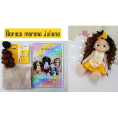 Kit mini boneca Moreninha Juliana