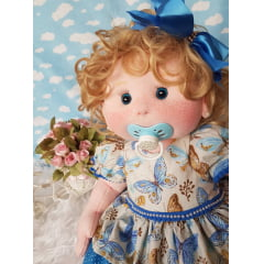 kit simples boneca Milena