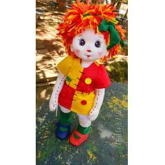 4 pares de olhos resinados (modelo  Emília, boneca de pano, artesanato, boneco, fantoche)