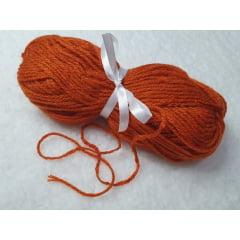 Lã para cabelo de boneca(cor Ruiva)