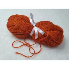 Lã para boneca cor Ruiva