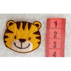 Aplique tigre ( selecionar cor )