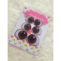 3 pares de olhos Baby Moana