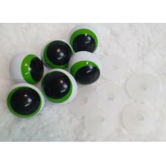 3 pares olhos de sapo 36 mm. + travas