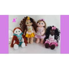 4 pares olhos resinados para mini bonecas e boneca Vitória