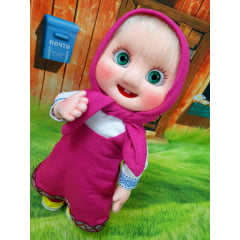 Boca resinada boneca Masha 3 unidades