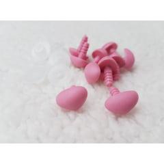 Fuça para Bichinhos + travas 10 unidades cor Rosa