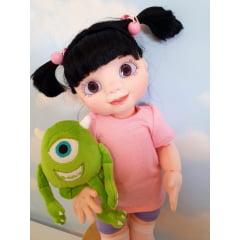 Olhos resinados boneca Boo